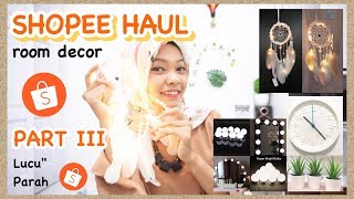 Shopee Haul Room Decor Part 3 Home Decor Haul Aesthetic Haul Youtube