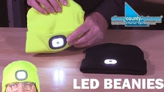 LED Beanies - Hi-Vis Beanies WIth Headlamps | Overview