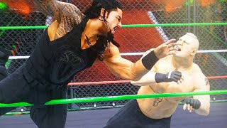 WWE 2K18 ROMAN REIGNS VS BROCK LESNAR | GREATEST ROYAL RUMBLE - PREDICTION HIGHLIGHTS