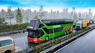 РАБОТАЮ ВОДИТЕЛЕМ АВТОБУСА - Fernbus Simulator