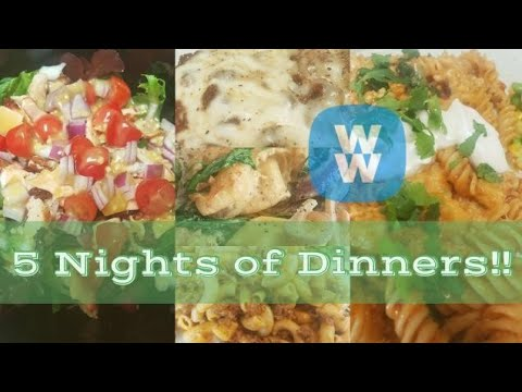 5 NIGHTS OF WW DINNERS | COPYCAT PANERA | DEEP DISH SLOPPY JOE CASSEROLE & MORE! | WEIGHT WATCHERS!!