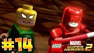 LEGO MARVEL SUPER HEROES GAMEPLAY DEUTSCH PART 14 100% - DEADPOOL & IRON FIST | EgoWhity