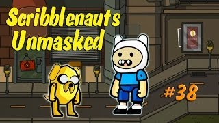 Scribblenauts Unmasked Wii U 38 Finn and Jake in the Hero Crea…