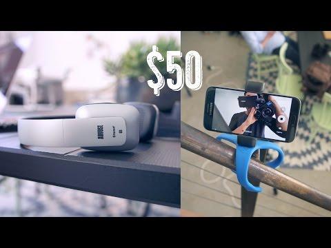 The Best Tech Under $50 - March 2016