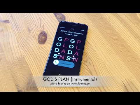 GOD'S PLAN Ringtone - Drake Tribute Instrumental Remix Ringtone - iPhone & Android