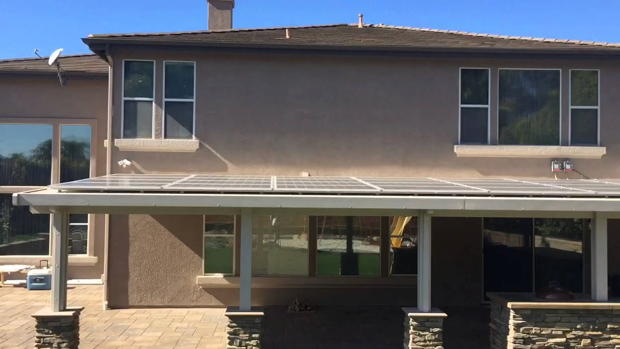 Beau Solar Ready Patio Covers Riverside | Alumacovers