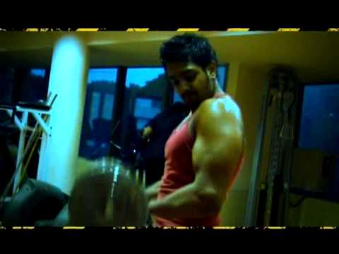 PROMO-WORK OUT WITH BAHADDUR