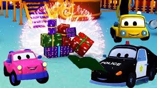 Der Streifenwagen mit dem Feuerwehrauto und Ab ins Bett, ihr Kleinen ! SPECIAL Weihnachten