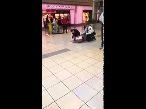 Cherryvale mall Guy fall