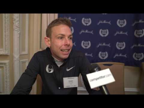 2017 Boston Marathon Press Conference: Galen Rupp