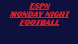 ESPN MONDAY NIGHT FOOTBALL Theme song (70