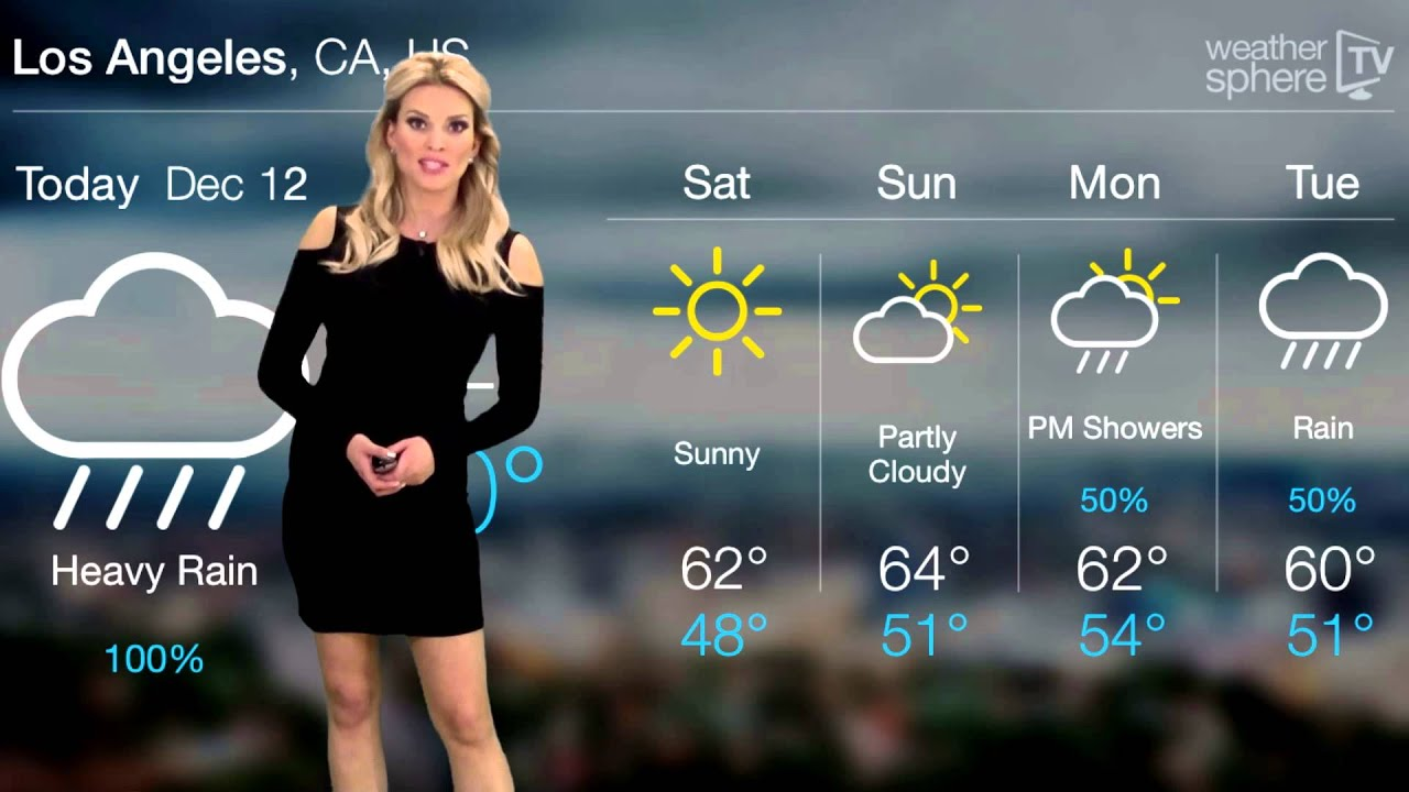 los angeles weather outlook december 12 2014 sabrina reese