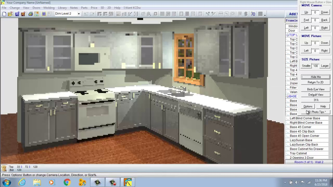 How To Design Kitchen Cabinets With Kcdw Youtube