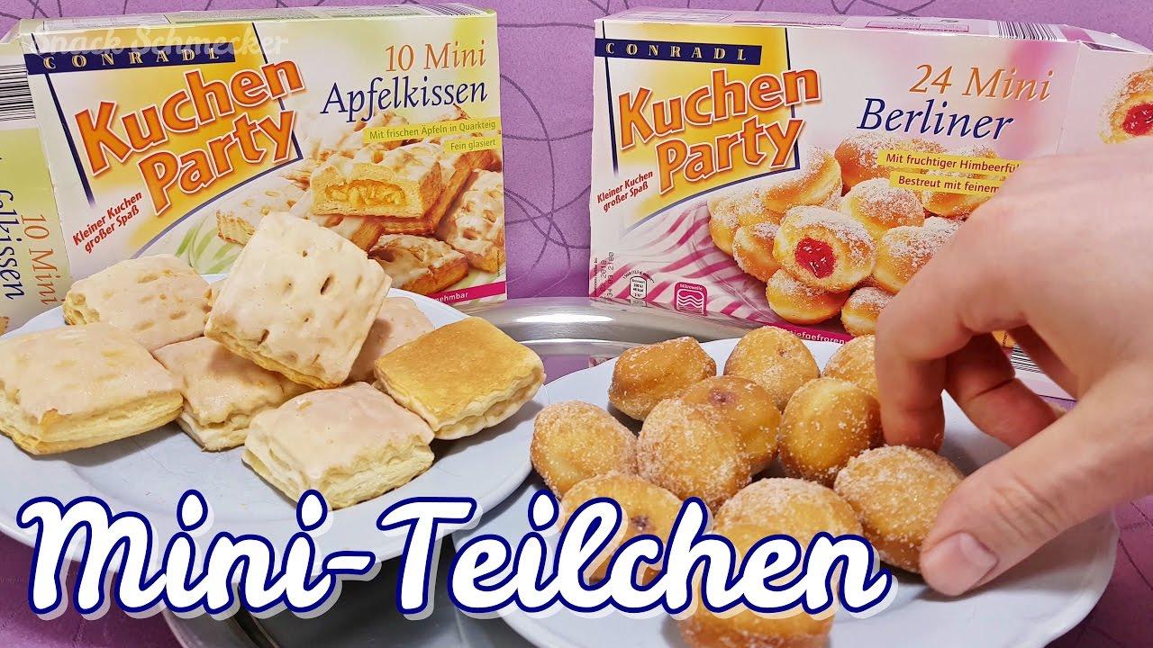 Kuchen Party Mini Berliner Mini Apfelkissen Von Aldi Nord Im Test