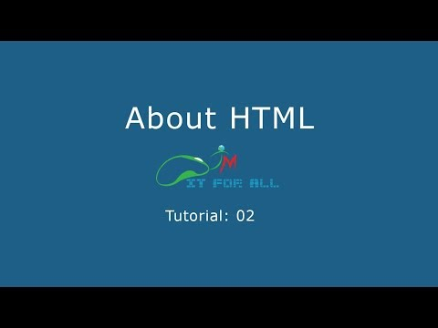 02. Web Design Bangla tutorial || TM IT|| About HTML|| Find Yourself || Tanzim