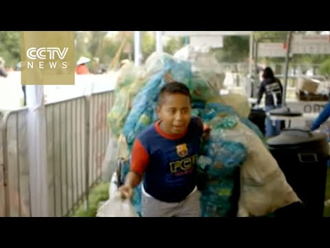 Barter Market In Mexico City Allows Locals To Exchange Trash For Food