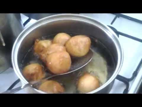 Cuisine Africaine Beignets Haricots Cameroun Youtube
