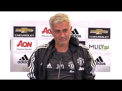Manchester United 2-1 Sampdoria - Jose Mourinho Post Match Press Conference