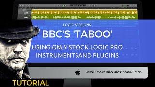 Logic Pro Tutorial: BBC's 'Taboo' Opening Theme (Max Richter)   TV & Film Scoring Tutorial