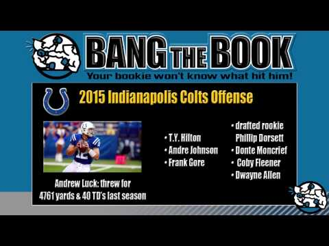 2015 Indianapolis Colts Team Preview, Wins Prediction, Odds and Schedule