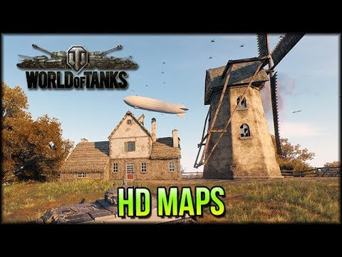 World of Tanks HD Map Preview