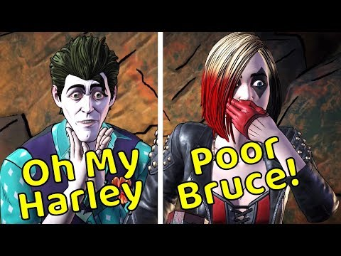 Bruce Sacrifice Himself To Save Harley (Every Single Choice) - The Enemy Within Episode 4