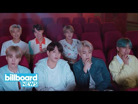 BTS Makes the Day Brighter With Their New 'Lights' Music Video | Billboard News