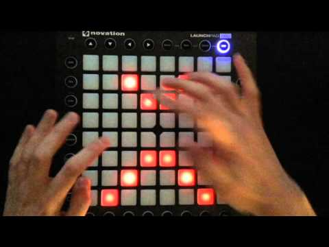 Knife Party - Give it up (Launchpad Pro Cover)