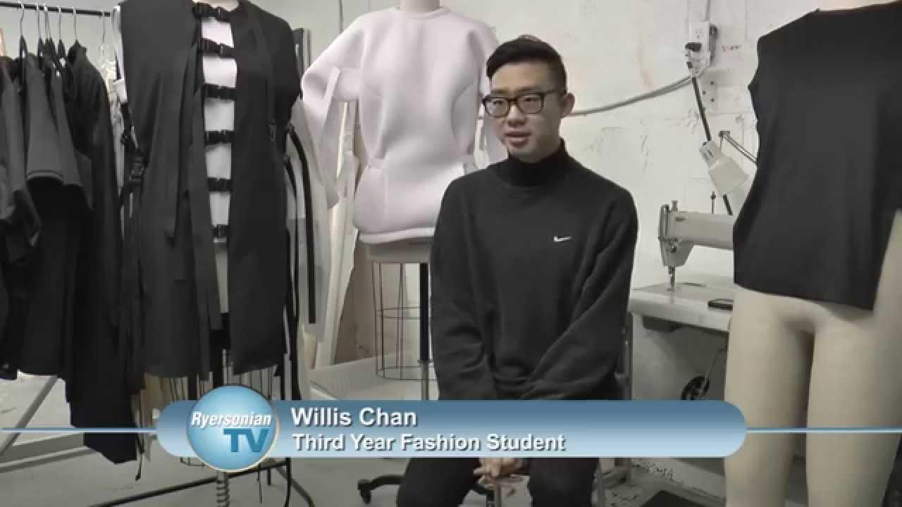Ryerson Design Student Willis Chan Talks Fashion Youtube