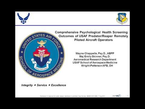 Understanding and Responding to the Emerging Behavioral Health Needs of Military Drone Operators