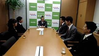 2012年2月7日、みんなの党茨城県衆議院第3区支部長のかじおか博樹県...