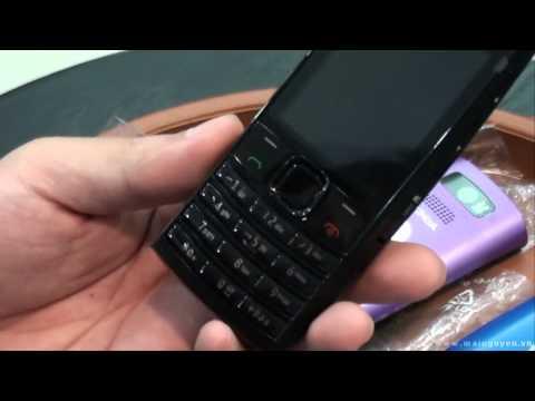 Khui hộp Nokia X2-02 (2 sim 2 sóng) - www.mainguyen.vn