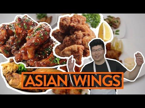 BEST ASIAN WINGS w/ TIM SHIIBA - Fung Bros Food