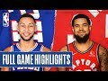 76ERS at RAPTORS | FULL GAME HIGHLIGHTS | January 22, 2020
