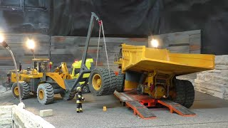 RC CONSTRUCTION SITE ACCIDENT, RC 100T DUMPTRUCK ACCIDENT