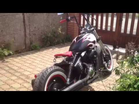 suzuki marauder vz 800 bobber youtube. Black Bedroom Furniture Sets. Home Design Ideas