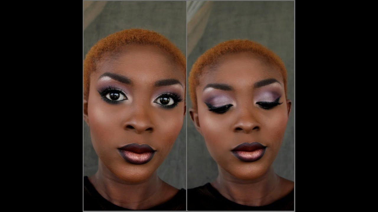 Grwm Mac Sin Lipstick Make Up Tutorial For Dark Skin