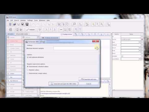XMLSeed XML Sample Generator