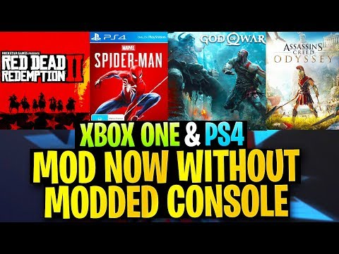 Games You Can Mod EASILY Without a Modded/Jailbroken Console! (Xbox One & PS4 Mods)