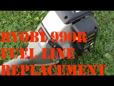Ryobi 990R Fuel Line Replacement (HOW TO)