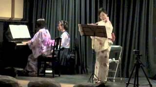 川上葉月(flute) 深谷七ツ梅コンサート*2014/7/19 Sat. (mobile向き)