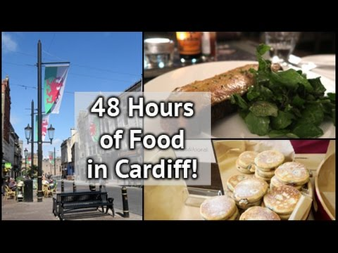 48 Hours of Food in Cardiff | xameliax | #AD