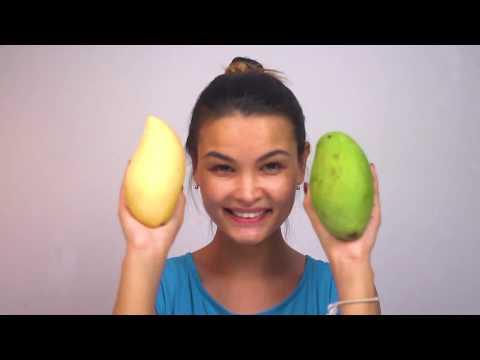 Вопрос: Как разрезать манго?