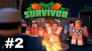 ROBLOX Survivor #2 (HILARIOUS): BAD LUCK (Ft. Bison)
