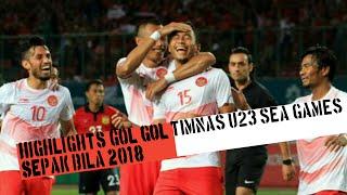 Full HIGHLIGHTS sepak bola INDONESIA U23 - SEA GAMES 2018