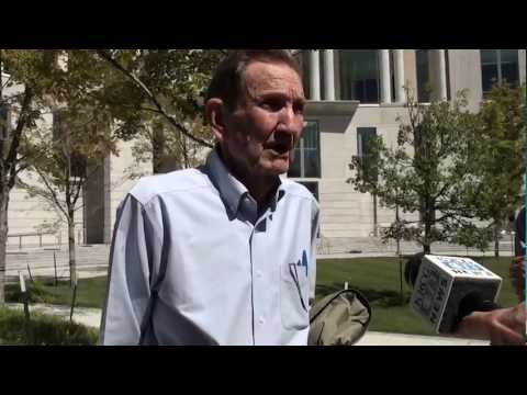 Trifecta Resista Drone Trial Press Conference - Ramsey Clark