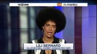 Lili Bernard and Gloria Allred with Ari Melber re Bill Cosby