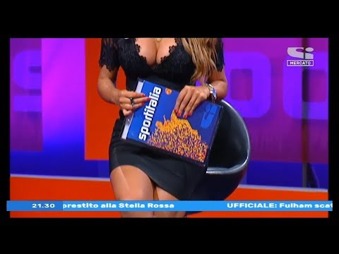 Jolanda De Rienzo super HOT a Sport Italia