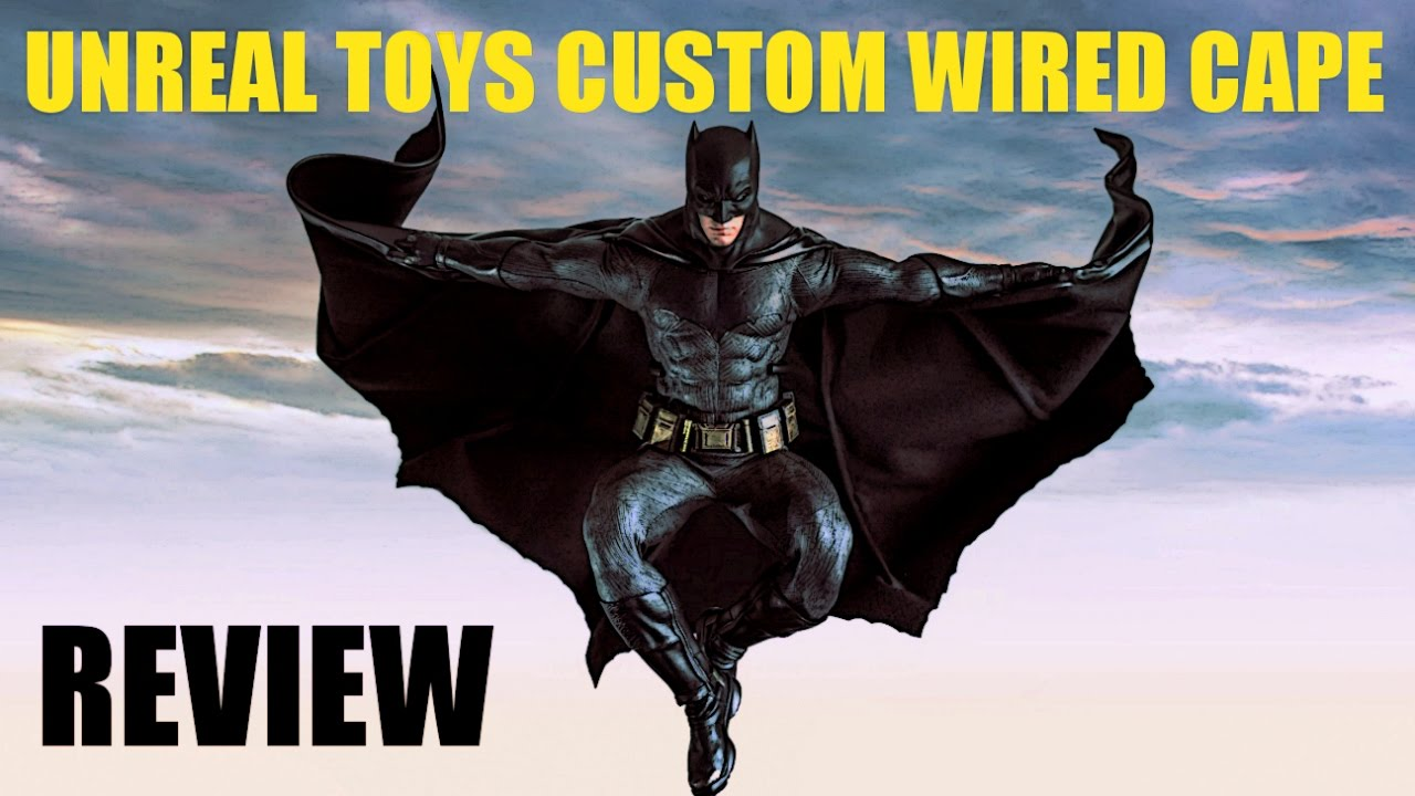 osw.zone Here's a review of the BvS wired cape by Dean Knight. Check out his Youtube / Fa...
