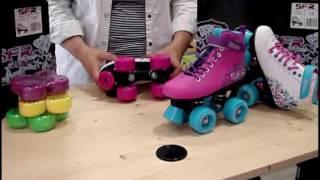 Patines 4 ruedas para niñas , patines 4 ruedas iniciación thumbnail